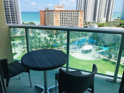 Photo for Amazing view in Sunny Isles walking to the Beach