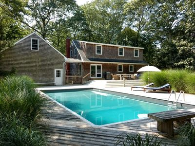 Photo for Charming 4B/3Bth East Hampton Shingled Classic With Pool: Perfect For Families