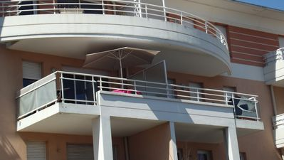 Safe secure balcony on second floor, spacious with  spectacular views