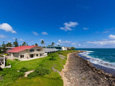 Photo for Ocean Breeze ~3 bd~Oceanfront~Kailua Bay~Spectacular Views, beautiful sunrise