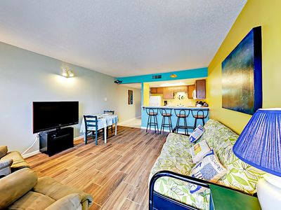 Living Room - Welcome to Port Aransas! Your rental is professionally managed by TurnKey Vacation Rentals.