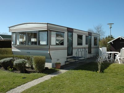 Photo for Family friendly mobile home on the holiday park deZandput - 1500m to the beach