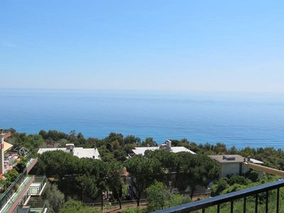 Photo for Stunning sea views, sunny and near the bike path