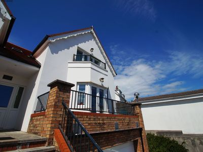 Photo for Stunning sea views across to Caldey Island and includes a swimming pool