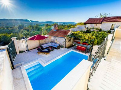 Photo for Stunning Villa Grapes with private pool