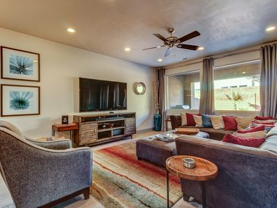 Photo for Modern Home w/ Private Hot Tub on Deck, Snow Canyon view, 4 BR-All Kings