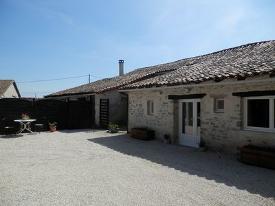 Photo for A lovely little cottage in a small hamlet in the West of France