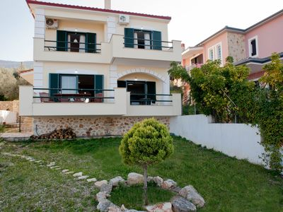 Photo for Derveni Comfort duplex Villa with 2BR and amazing seaview 5min away from the sea
