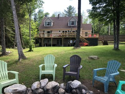 WATERFRONT home on pristine Maine Lake; FAMILY FRIENDLY!