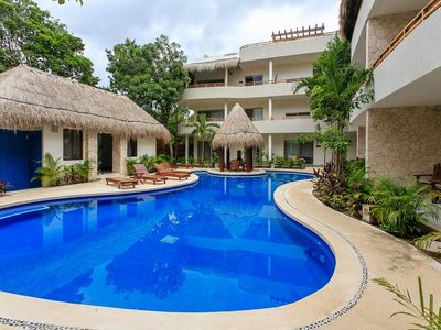Photo for Villa Puerta Zama 2 BR with big terrace in Tulum by Happy Address
