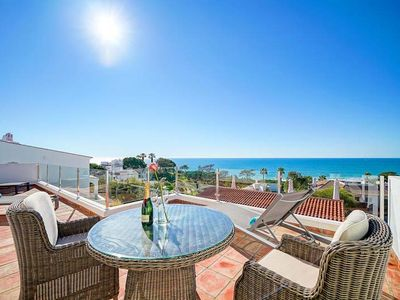 Photo for LOCATION, LOCATION, LOCATION! Renovated villa with pool beside the Praca and beach in Vale do Lobo ER12