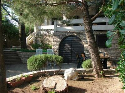 Photo for Holiday apartment Pag for 2 - 4 persons with 1 bedroom - Holiday apartment
