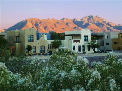 The Tubac townhome is in an upscale gated community that is beautifully situated