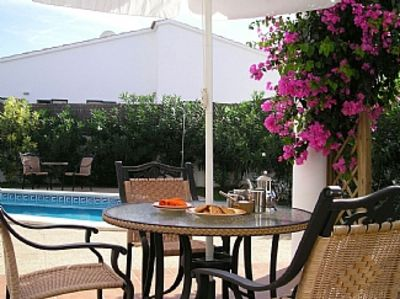 Photo for Luxury Villa With Private Pool, Hot Tub, WiFi,.Air-con,Quiet Part Of Calen Porte
