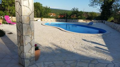 Photo for Holiday cottage Zgaljici for 4 - 6 people with 2 bedrooms - Holiday home