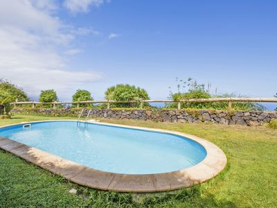 Photo for This 2-bedroom villa for up to 6 guests is located in El Sauzal and has a private swimming pool and