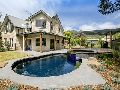 Photo for 2 Marma Retreat - Luxury Family home with jacuzzi, heated pool, pet friendly, Foxtel