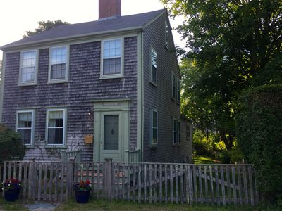 Charming, quiet, historic in-town Nantucket home