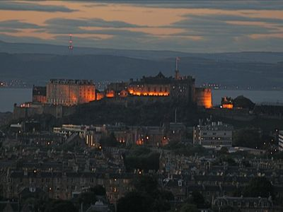 EDINBURGH CITY  [ CASTLE AND FIFE INTHE background            -image GeeEl-