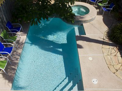 Photo for 3/2.5 Heated Pool and Jacuzzi close to beach