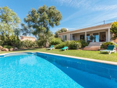 Photo for Wonderful house with garden and pool near the best beaches in Mallorca