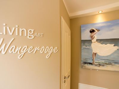 Photo for LIVING-art Wangerooge * direct beach location * Wattenblick * Gas ​​Fireplace * Bicycles