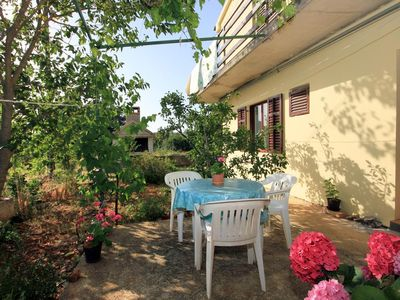 Photo for Two bedroom apartment with terrace Zaglav, Dugi otok (A-878-a)