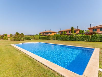 Photo for Cozy Holiday Home in Navata Spain with Communal Pool