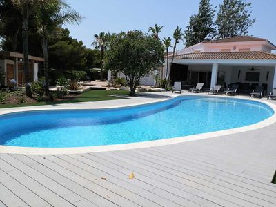 Photo for CASA CAHCAP,Ideal house for your holidays near the sea, free wifi, private pool, pets allowed, dog's beach.