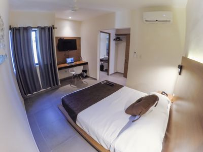 Modern room in downtown Cancun
