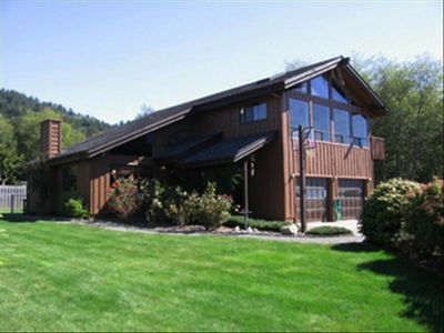 Photo for Winchuck River Lodge: Family Friendly Space , Hot Tub, Loft, Yard, Beach Access