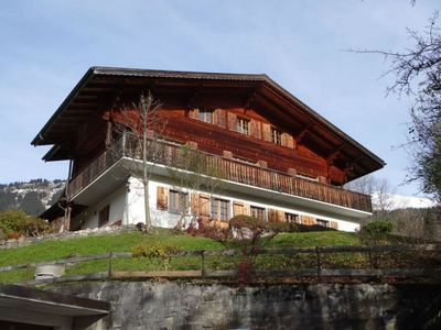 Photo for Apartment Steirösli 1. & 2. Stock  in Lenk, Bernese Oberland - 8 persons, 4 bedrooms