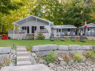 Photo for WATERFRONT - BEAUTIFUL COTTAGE ON THE COVE