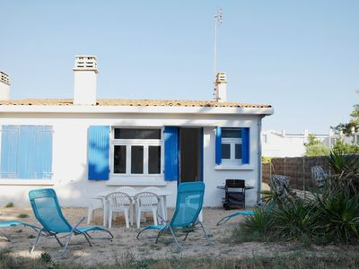 Photo for 100 meters from the beach, just a short walk away from the casino and trades