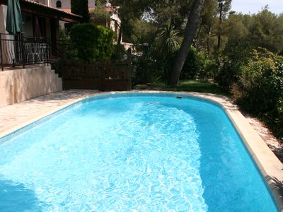 Photo for House / Villa with swimming-pool and garden in quiet area - Bouc-Bel-Air