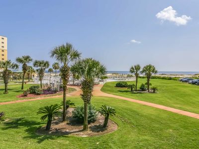 Photo for Waterfront condo w/shared pool & hot tub - walk to the beach