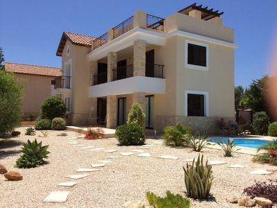 Photo for Luxurious 3 bedroom 3 bathroom Villa with large private pool and roof terrace