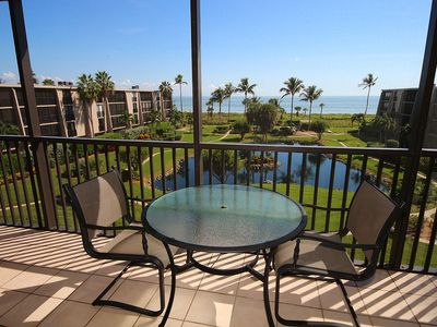 Photo for Gulf View, Two Bedroom Condo Overlooking Pool and Beach - Sundial P403