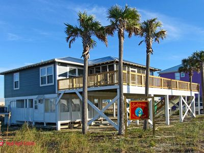 Photo for Beautifully updated 3 Bedroom/2 bath Gulf View Beach Home with great views and easy beach access. Sleeps 6.