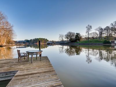 Photo for Newly updated studio lakefront apartment is the perfect getaway!