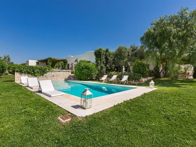 Photo for 339 Luxury Villa with Trulli and Pool in Cisternino