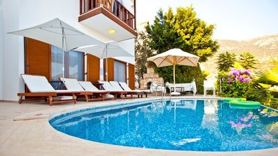 Photo for 4 bedroom villa with stunning sea views  only 300 mt. to the heart of Kalkan