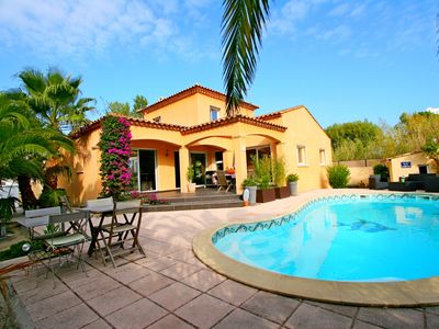 Photo for La Grande-Motte> 5-room villa> 6 people> Comfortable