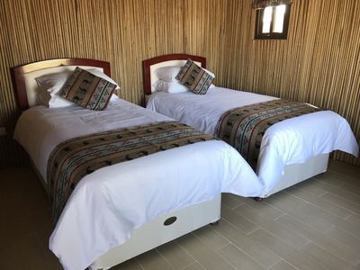 Photo for Oman getaway: Neem eco-cabin, close desert, mountains, forts and villages