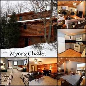 Photo for Myers - A Beautiful Chalet Nestled in a Secluded Setting!