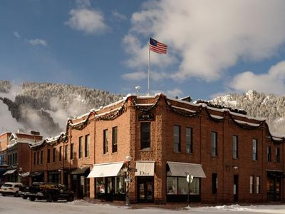 Photo for Luxurious one bedroom  with fireplace in the heart of Aspen!
