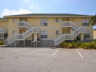 "Photo for Condo #2154 is a 2 Bedroom Beach Front Condo ""Pet Friendly"""