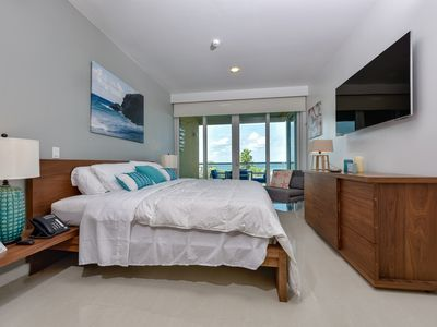 Photo for Modern 2 Bedroom Condo at Blue - Stunning Ocean Views