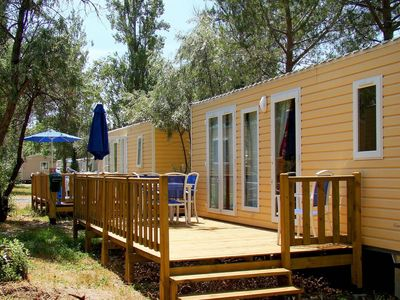 Photo for Mobile home on a holiday park with many facilities located in a beautiful area