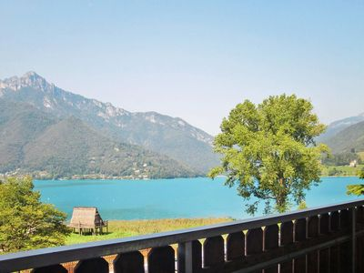 Photo for One bedroom Apartment, sleeps 4 in Molina di Ledro with WiFi